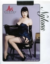 Ars Vivendi Nylons Stockings Dita Von Teese Edition Black Size 1 34-36 - AU$65